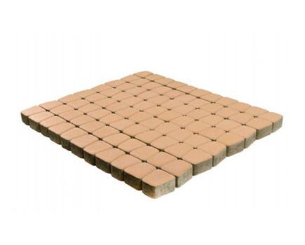 Тротуарная плитка «Классико круговая» Светло-коричневый