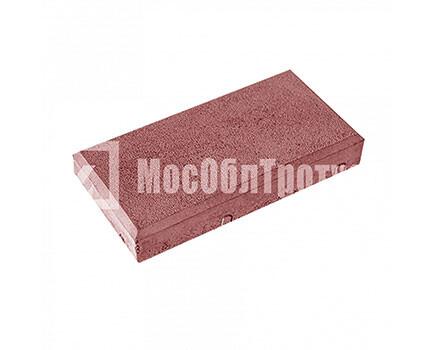 Тротуарная плитка «Кирпич» Красный