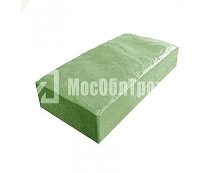 Плитка тротуарная «Английский булыжник» Зеленый