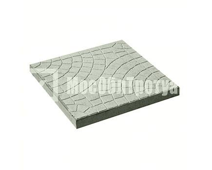Тротуарная плитка Паутина Серый