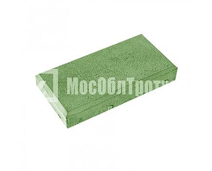 Тротуарная плитка «Кирпич» Зеленый