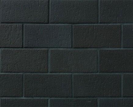 Тротуарная плитка «SPALTKLINKER» Черный