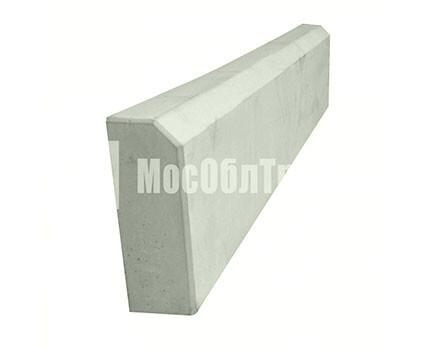 Бордюрный камень «Садовый вибролитой» Серый