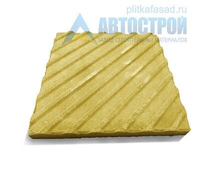 Плитка тактильная «Диагональные рифы»