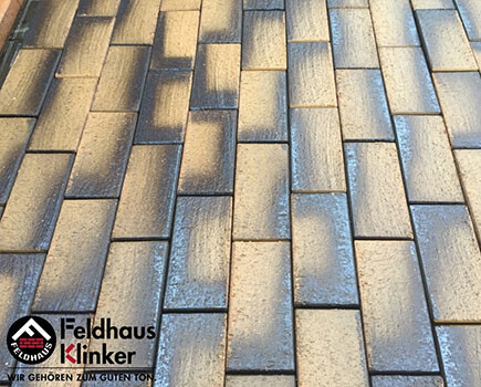 Клинкерная брусчатка «Feldhaus Klinker» Штайн хром