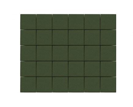 Тротуарная плитка «Лувр» Зеленый