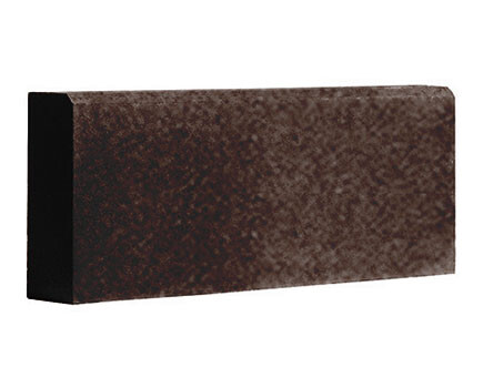 Бордюр-садовый-1000Х200Х80--Темно-коричневый