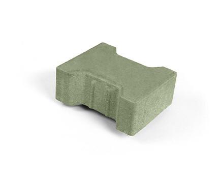 Плитка «Катушка» для тротуара зеленый