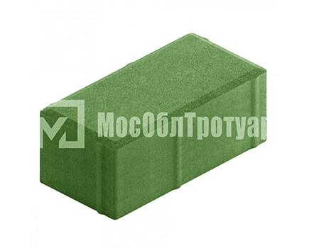 Плитка «Вибропрессованный кирпич» Зеленый