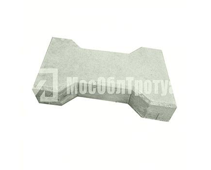 Плитка тротуарная «Катушка» Серый
