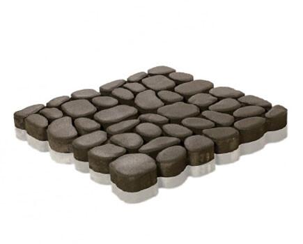 Тротуарная плитка «Грин Галет» Серый