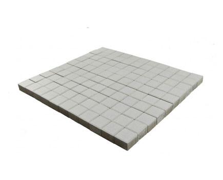 Тротуарная плитка «Лувр» белый
