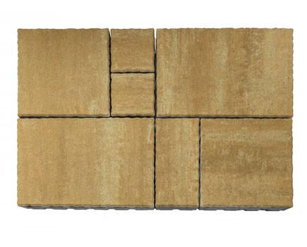 Тротуарная плитка «Патио» С-коричневый