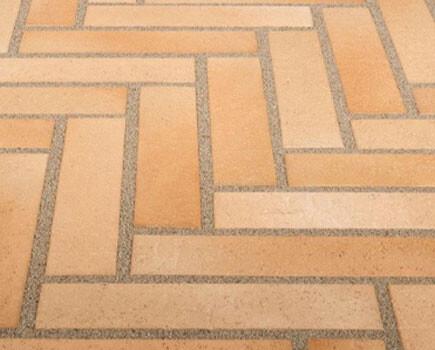 Тротуарная плитка «SPALTKLINKER» С-коричневый