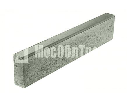 Бордюрный камень «Бортовой БР» Серый