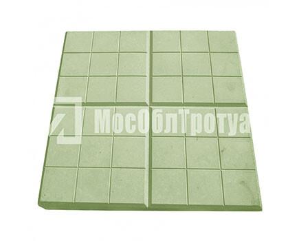 Тротуарная плитка «Сеточка» (350Х350Х50) Зеленый