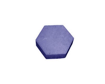 Шестиугольник Синий