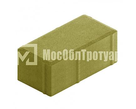 Плитка «Вибропрессованный кирпич» Желтый