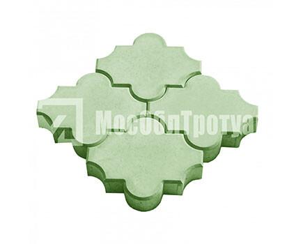 Плитка «Краковский гладкий» Зеленый