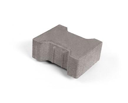 Плитка «Катушка» для тротуара серый