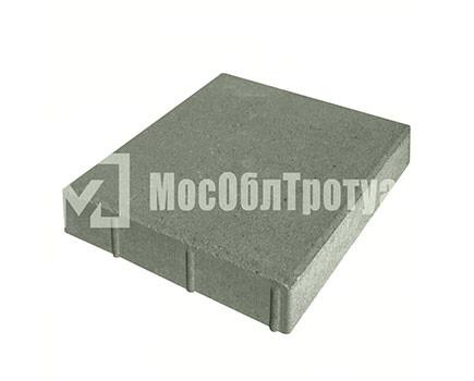 Плитка «Квадрат» для тротуара Серый
