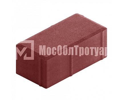 Плитка «Вибропрессованный кирпич» Красный