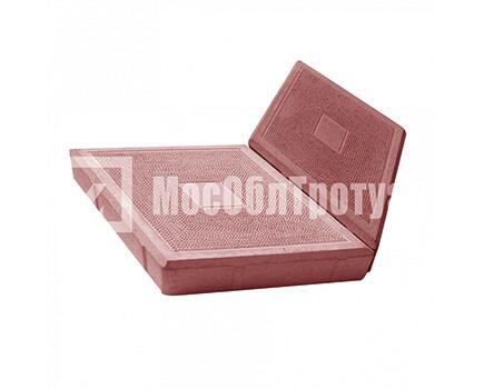 Тротуарная плитка «Ромб» Красный