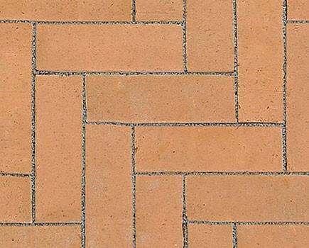 Тротуарный клинкер «Dikformaat» светло-коричневый