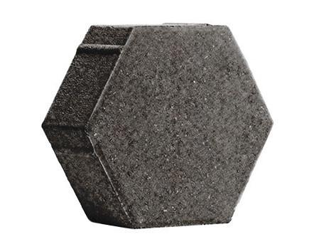ШЕСТИГРАННИК-230Х197Х80-Темно-серый
