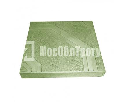 Тротуарная плитка «Орнамент» (400x400x50) Зеленый