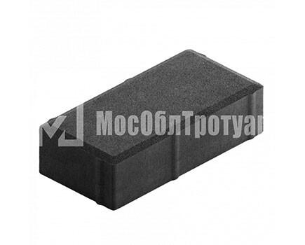 Плитка тротуара «Вибропресс кирпич» Черный