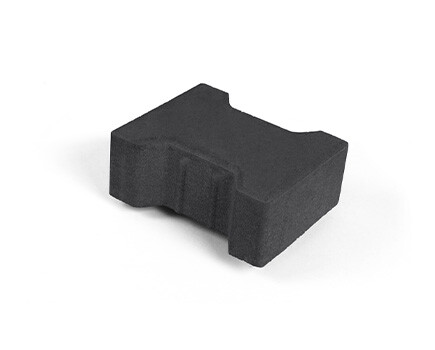 Плитка «Катушка» для тротуара черный