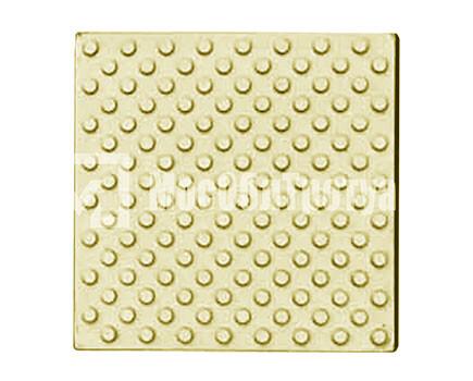 Тактильная плитка «Конус риф» Желтый