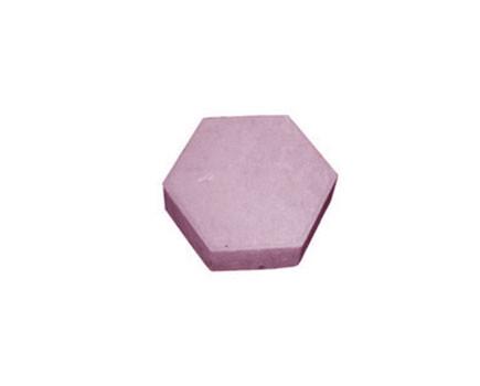 Шестиугольник Малиновый
