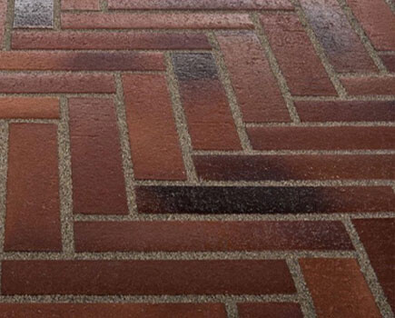 Тротуарная плитка «SPALTKLINKER» Коричневый