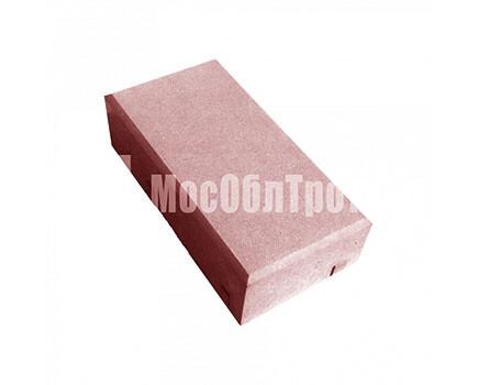 Тротуарная плитка «Кирпич» 45 Красный