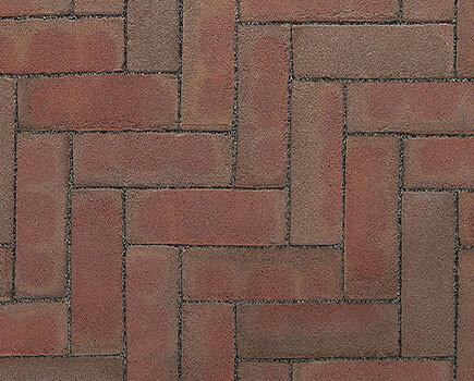 Тротуарный клинкер «Dikformaat» смешанный цвет