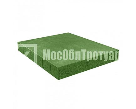 Плитка «Квадрат вибропресcованный» Зеленый