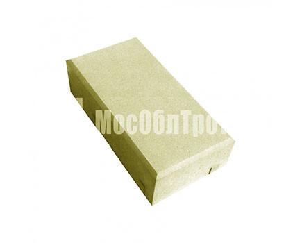 Тротуарная плитка «Кирпич» 45 Желтый
