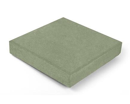 Тротуарная плитка Квадрат зеленый