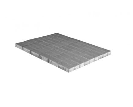 Тротуарная плитка «Прямоугольник» Серый