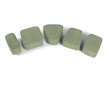 Плитка «Классика» для тротуара зеленый