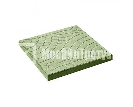 Тротуарная плитка Паутина Зеленый