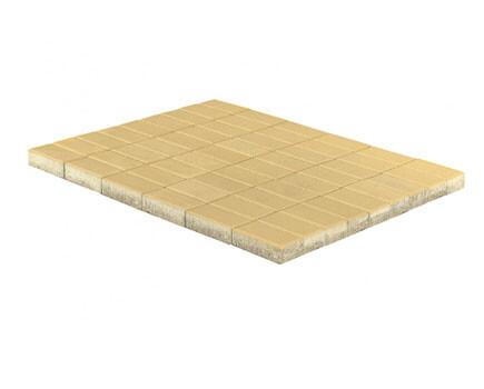 Тротуарная плитка «Прямоугольник» Светло-коричневый