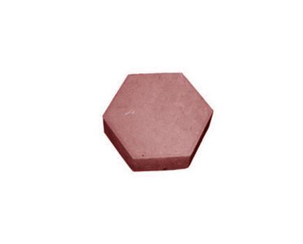 Брусчатка «Шестигранник» Красный