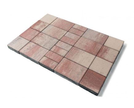 Тротуарная плитка «Мозаика» Штайн ферро