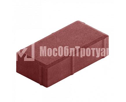 Плитка тротуара «Вибропресс кирпич» Красный