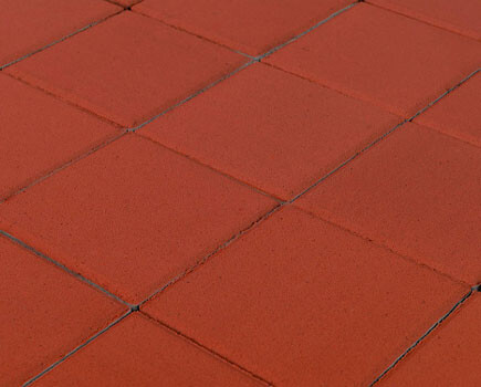 Тротуарная плитка «Лувр» Красный