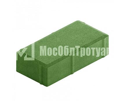 Плитка тротуара «Вибропресс кирпич» Зеленый
