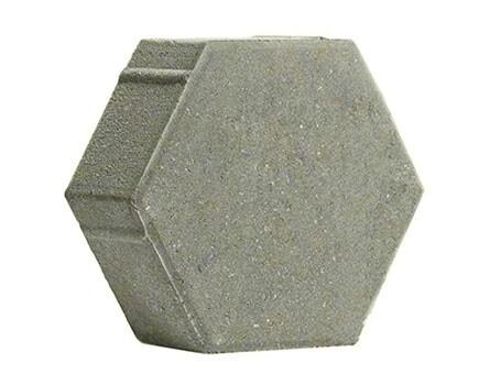 ШЕСТИГРАННИК-230Х197Х80-Серый